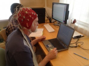 Preparing for brainwave baseline test